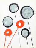Lollipops from Derriere Le Miroir Collectable Print by Alexander Calder