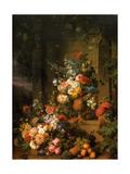 Jean-Francois Van Dael - Le Tombeau de Julie 1803-1804 - Poster