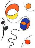 Abstract I from Derriere Le Miroir Reproductions de collection par Alexander Calder