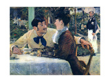 Edouard Manet - At Father Lathuille - Art Print