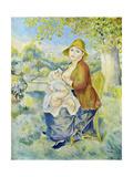 Auguste Renoir - Mother and Child (La Me?re et L'Enfant) - Tablo
