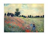 Claude Monet - The Red Poppies, 1873 - Reprodüksiyon