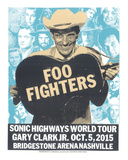 Foo Fighters Serigrafi af Print Mafia