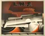 Lms Bestway - Restrike Collectable Print by A.M. Cassandre