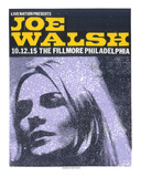 Joe Walsh Serigraph by  Print Mafia
