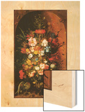 Bouquet de Fleurs 1624 Wood Print by Roelandt Savery