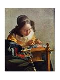 Jan Vermeer - La Dentelliere - Tablo