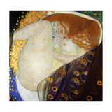 Danae Póster por Gustav Klimt