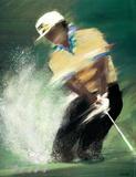 Golfer - Spahn Collectable Print by Victor Spahn