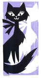 Once Upon A Cat Serigrafi (silketryk) af  Print Mafia