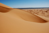 View of desert sand dunes, Grande Dune, Erg Chebbi, Sahara Desert Photographic Print by Derek Hall