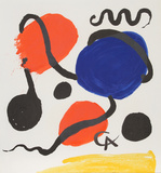 Composition I Collectable Print by Alexander Calder