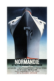 Adolphe Mouron Cassandre - Normandie, 1935 - Şasili Gerilmiş Tuvale Reprodüksiyon