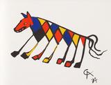 Flying Colors 3 Reproductions de collection premium par Alexander Calder