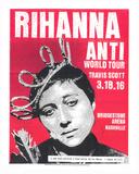 Rihanna Serigrafie von  Print Mafia