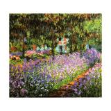 Le Jardin de L'Artiste a Giverny 1900 Posters af Claude Monet