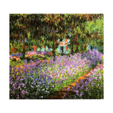 Claude Monet - Le Jardin de L'Artiste a Giverny 1900 - Poster