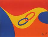 Flying Colors 2 Reproductions de collection premium par Alexander Calder