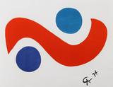 Flying Colors 1 Reproductions de collection premium par Alexander Calder