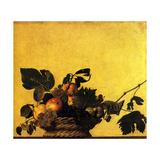 Corbeille de Fruits 1600 Kunst af Caravage