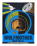 Wolfmother Nashville Serigraph by  Print Mafia