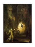 Gustave Moreau - L'Apparition 1874-76 - Reprodüksiyon