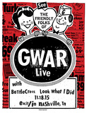 Gwar Serigraph by  Print Mafia