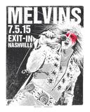 Melvins Nashville Serigraph by  Print Mafia