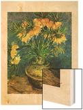 Fritillaires Dans un Vase de Cuivre, 1886 Wood Print by Vincent van Gogh