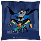 Batman The Animated Series - Batman And Robin Throw Pillow Throw Pillow