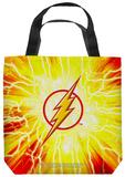 Justice League of America - Lightning Emblem Tote Bag Tote Bag