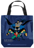 Batman The Animated Series - Batman And Robin Tote Bag Tote Bag