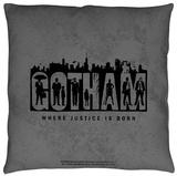 Gotham - Logo Throw Pillow Throw Pillow