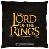 Lord Of The Rings - Lor Logo Throw Pillow Throw Pillow