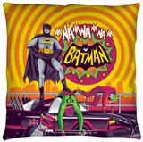 Batman Classic Tv - Batman Wins Again Throw Pillow Throw Pillow