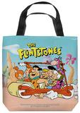 Flintstones - The Flintstones Gang Tote Bag Tote Bag