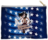 Justice League of America - Ripped Flag Zipper Pouch Zipper Pouch