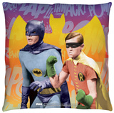 Batman Classic Tv - Biff Bang Pow Throw Pillow Throw Pillow
