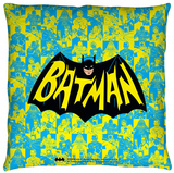 Batman Classic Tv - Classic Tv Show Logo Throw Pillow Throw Pillow