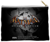 Batman Arkham Asylum - Logo Zipper Pouch Zipper Pouch