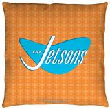 Jetsons - Jetsons Logo Throw Pillow Throw Pillow