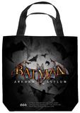 Batman Arkham Asylum - Logo Tote Bag Tote Bag