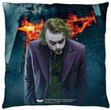 Dark Knight Trilogy - Agent Of Chaos Throw Pillow Throw Pillow
