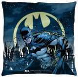 Batman - Heed The Call Throw Pillow Throw Pillow