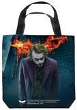 Dark Knight Trilogy - Agent Of Chaos Tote Bag Tote Bag