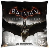 Batman Arkham Knight - Arkham Knight Poster Throw Pillow Throw Pillow