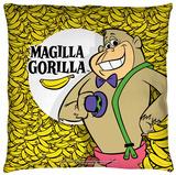 Magilla Gorilla - Send More Bananas Throw Pillow Throw Pillow