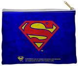 Superman - Galvanized Shield Zipper Pouch Zipper Pouch