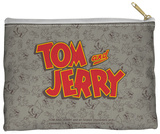 Tom And Jerry - Logo Zipper Pouch Zipper Pouch