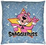 Snagglepuss - Snagglepuss Throw Pillow Throw Pillow